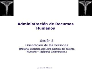 Administraci n de Recursos Humanos
