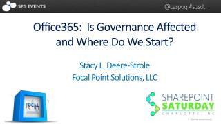 Stacy L. Deere-Strole Focal Point Solutions, LLC