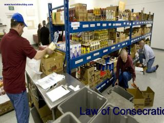 Law of Consecration