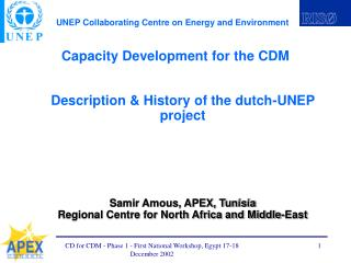 Capacity Development for the CDM