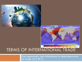 Terms of International Trade