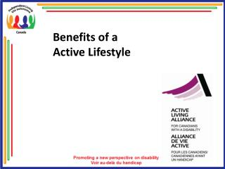 Benefits of a  Active Lifestyle