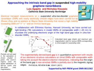 Supported by NSF-PREM grant DMR-0611562