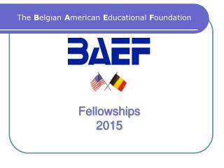 Fellowships 2015