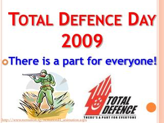 Total Defence Day 2009