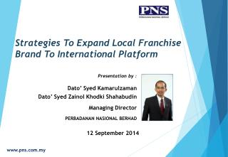 Strategies To Expand Local Franchise Brand To International Platform