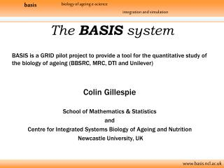 The  BASIS  system