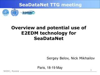 SeaDataNet TTG meeting