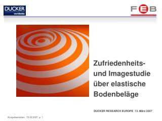 DUCKER RESEARCH EUROPE  13. März 2007