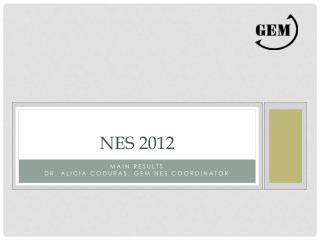 NES 2012