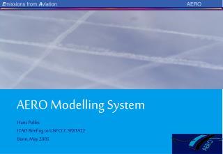 AERO Modelling System
