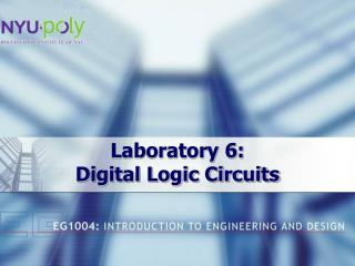 Laboratory 6:  Digital Logic Circuits