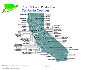 State & Local Production
