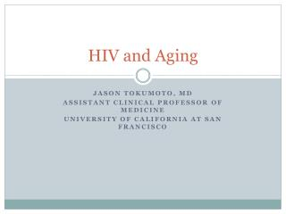 HIV and Aging