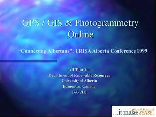 GPS / GIS & Photogrammetry Online