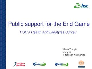 Public support for the End Game