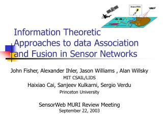 Information Theoretic Approaches to data Association and Fusion in Sensor Networks