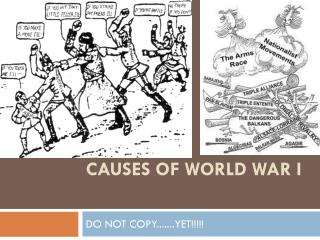 Causes of World War I