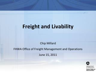 Freight and Livability