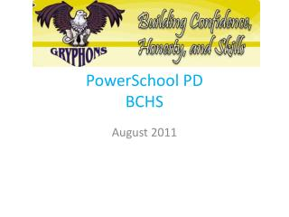 PowerSchool  PD BCHS