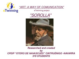 """ART: A WAY OF COMUNICATION""  eTwinning project"