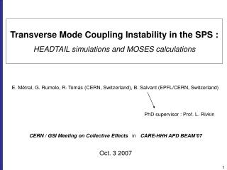 Transverse Mode Coupling Instability in the SPS : HEADTAIL simulations and MOSES calculations