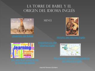 La Torre de Babel y el Origen del Idioma Inglés