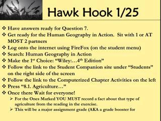 Hawk Hook 1/25