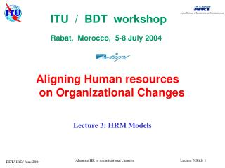 Lecture 3: HRM Models