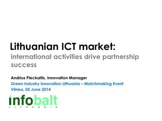 Lithuanian ICT market :