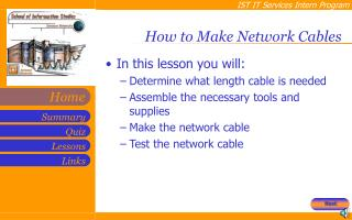 How to Make Network Cables