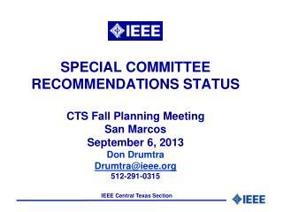 Recommendation Status