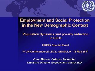 Employment and Social Protection in the New Demographic Context