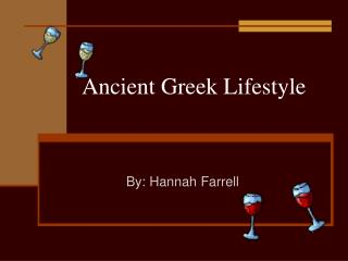 Ancient Greek Lifestyle