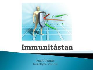Immunitástan