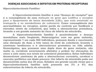 DOENÇAS ASSOCIADAS A DEFEITOS EM PROTEÍNAS RECEPTORAS