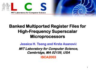 Banked Multiported Register Files for High-Frequency Superscalar Microprocessors