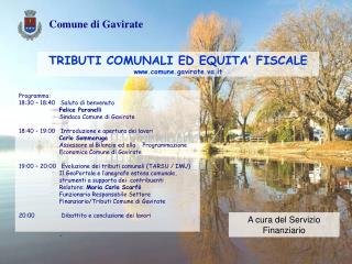 TRIBUTI COMUNALI ED EQUITA' FISCALE comune.gavirate.va.it