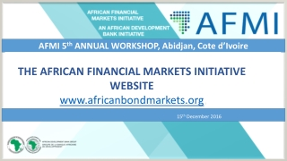 Debt Funding on the African Continent