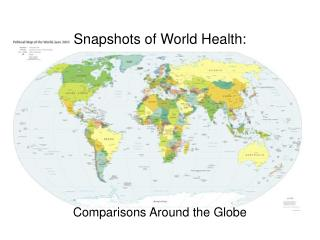 Snapshots of World Health: