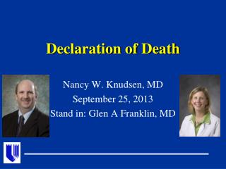 Declaration of Death