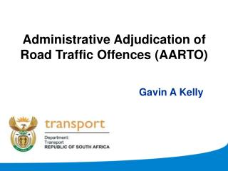 Administrative Adjudication of Road Traffic Offences AARTO