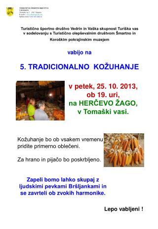 Turistično športno društvo Vedrin in Vaška skupnost Turiška vas