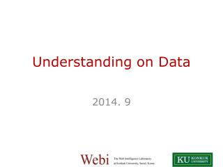 Understanding on Data