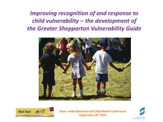 State �wide Maternal and Child Health Conference  September 18 th  2014