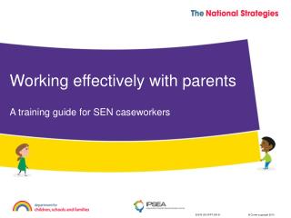 Working effectively with parents