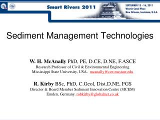 Sediment Management Technologies
