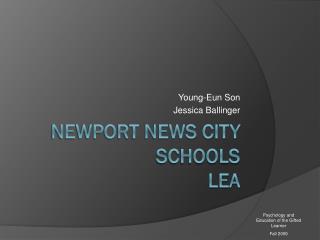 Newport News City Schools LEA