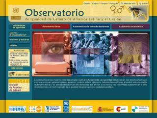 Alejandra Valdés, Coordinadora Observatorio de  Igualdad de Género de América Latina y el Caribe