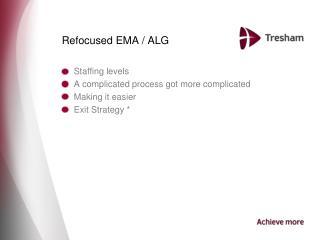 Refocused EMA / ALG